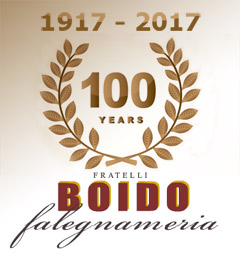 100 years BOIDO carpentry Nizza Monferrato